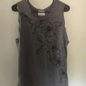 Floral Muscle Tee